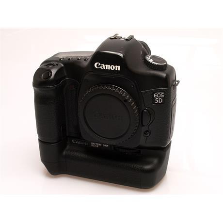 Canon EOS 5D + BG-E4 Grip thumbnail