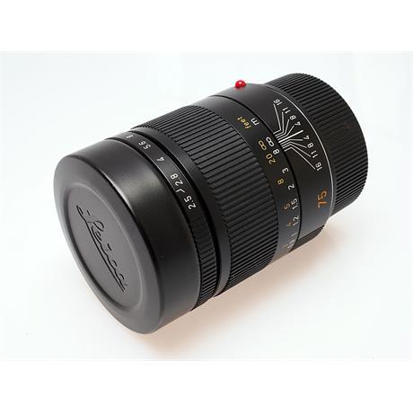 Leica 75mm F2.5 M Black 6bit thumbnail