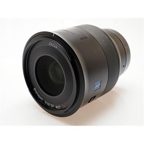 Zeiss 40mm F2 Batis Distagon T* - Sony E thumbnail