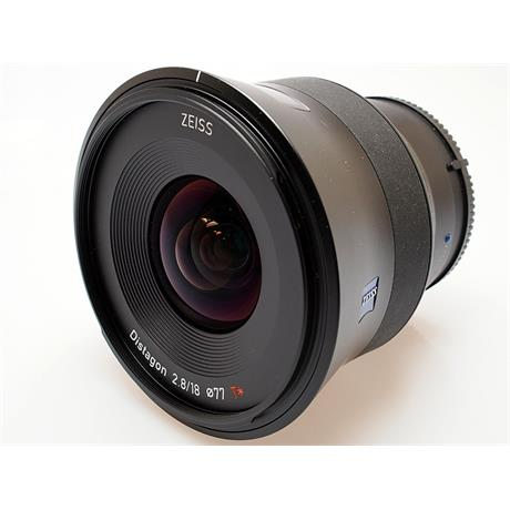 Zeiss 18mm F2.8 Batis Distagon T* - Sony E thumbnail