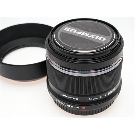 Olympus 25mm F1.8 M.Zuiko - Black thumbnail