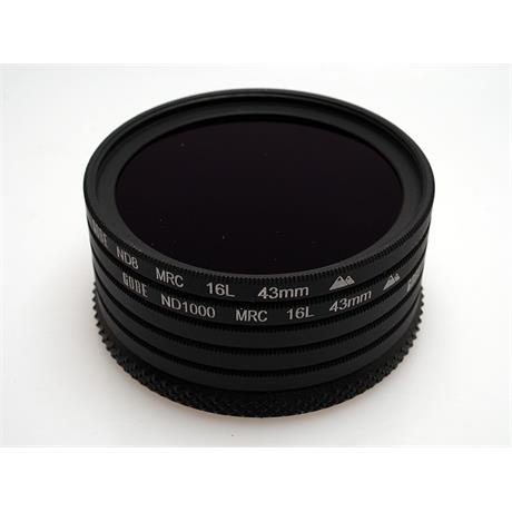 Gobe 43mm Neutral Density Filter Set thumbnail