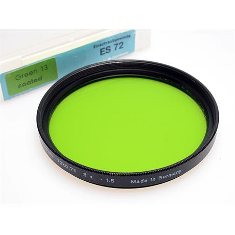 Heliopan 72mm Green thumbnail