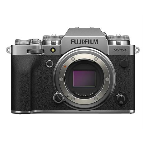 Fujifilm X-T4 Body Only - Silver thumbnail