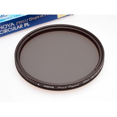 Hoya 58mm pro1 circular polariser thumbnail