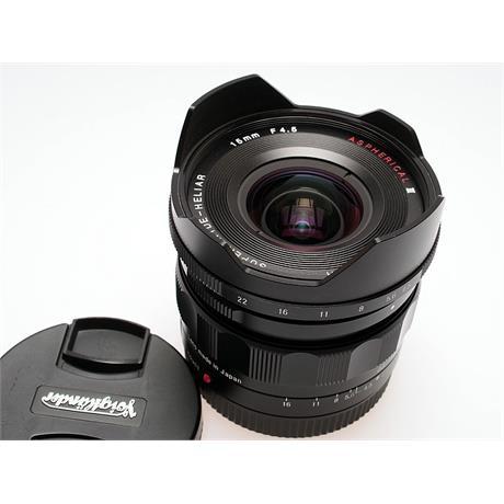 Voigtlander 15mm F4.5 E Super Wide Heliar Asph - Sony E thumbnail