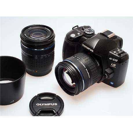 Olympus E510 + 14-42mm + 40-150mm thumbnail