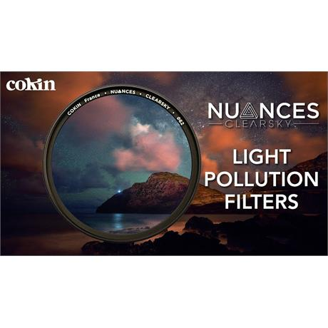 Cokin 58mm Nuances Clearsky Light Pollution Filter thumbnail