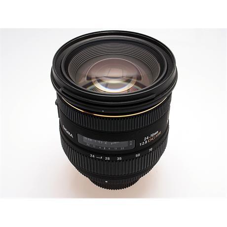 Sigma 24-70mm F2.8 IF EX DG HSM - Nikon AF thumbnail