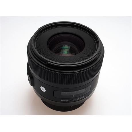 Sigma 30mm F1.4 DC HSM A - Nikon AF thumbnail