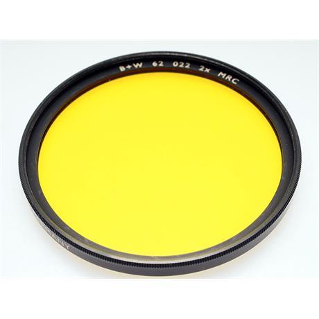 B+W 62mm Yellow (022M) MRC thumbnail