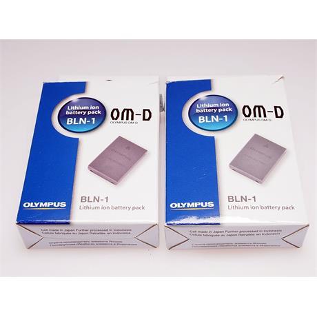 Olympus 2x BLN-1 Lithium Battery ( E-M5 ) thumbnail
