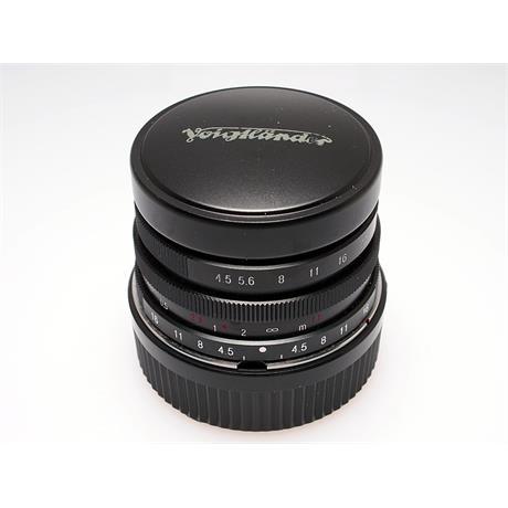 Voigtlander 15mm F4.5 Heliar + Adapter thumbnail