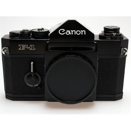 Canon F1 Black Body Only thumbnail