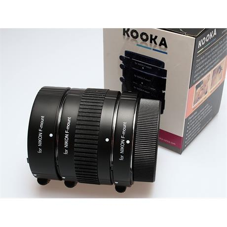 Kooka Extension Tube Set - Nikon AF thumbnail