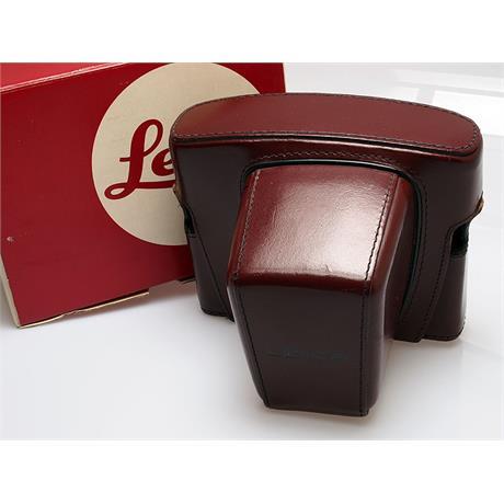 Leica R3 Burgundy Leather Case thumbnail