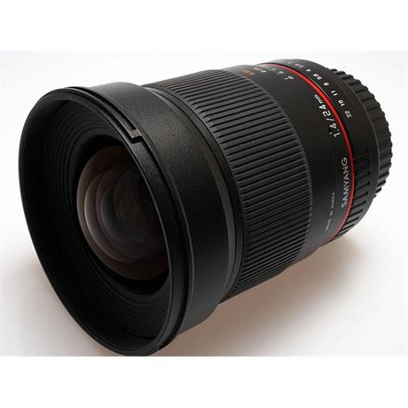Samyang 24mm F1.4 ED IF AS UMC - Canon EOS thumbnail