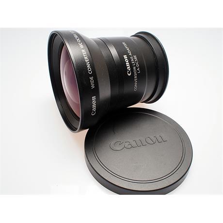 Canon LA-DC58E ADapter + WC-DC58A Wide Convert thumbnail