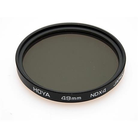 Hoya 49mm Neutral Density ND4x thumbnail