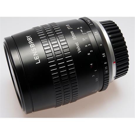 LensBaby Velvet 85mm F1.8 - Canon EOS thumbnail