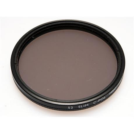 B+W 52mm Circular Polariser MRC - Slim Mount thumbnail
