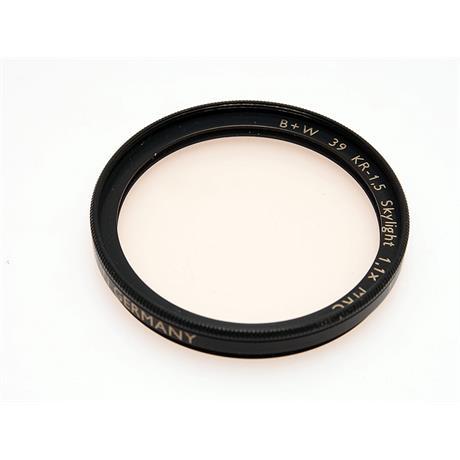 B+W 39mm KR1.5 Skylight - MRC thumbnail