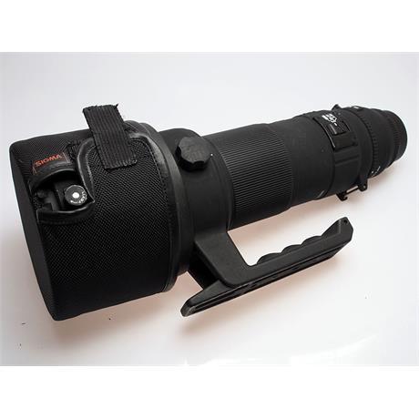 Sigma 500mm F4.5 Apo EXG HSM - Nikon AF thumbnail