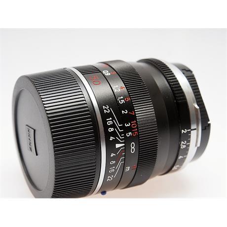 Zeiss 50mm F2 ZM - Black thumbnail