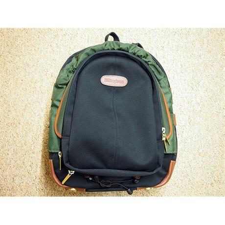 Billingham Model 25 Rucksack - Black/Tan thumbnail