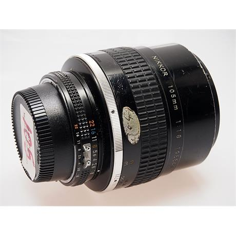 Nikon 105mm F1.8 AIS thumbnail