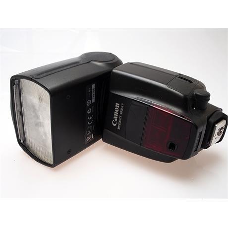 Canon 580EXII Speedlite + Cord thumbnail