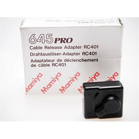 Mamiya Cable Release Adapter RC401 thumbnail