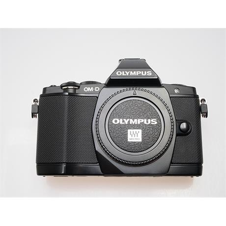 Olympus OMD E-M5 Black Body Only thumbnail