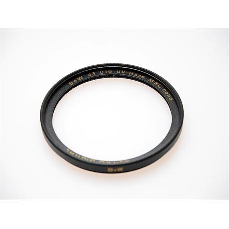 B+W 43mm UV Nano - Multi Coated thumbnail