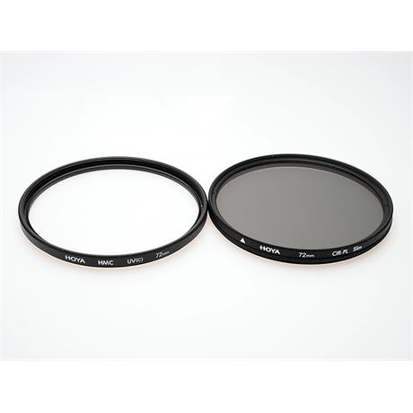 Hoya 72mm HMC UV + 72mm Circular Polariser -  thumbnail
