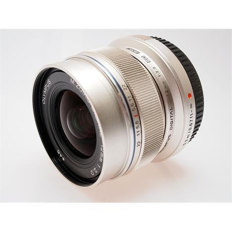 Olympus 12mm F2 ED M.Zuiko - Silver thumbnail