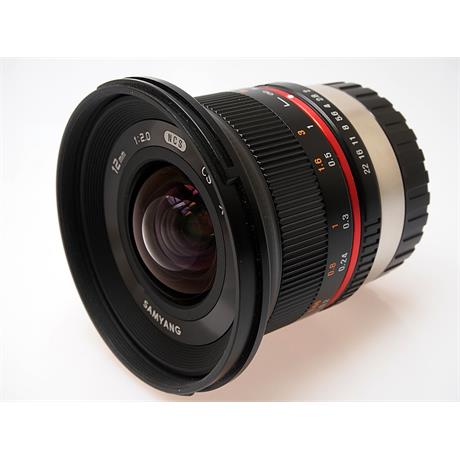 Samyang 12mm F2 NCS CS Black - Fujifilm X thumbnail