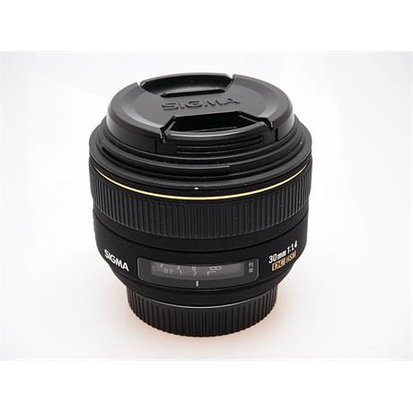 Sigma 30mm F1.4 DC HSM - Nikon AF thumbnail