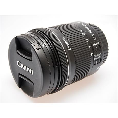 Canon 10-18mm F4.5-5.6 IS STM EF-S thumbnail