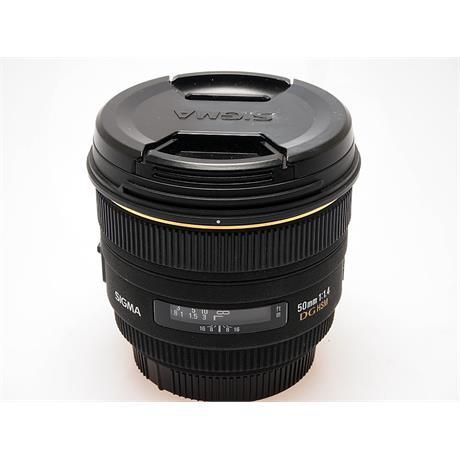 Sigma 50mm F1.4 DG HSM - Sony AF thumbnail