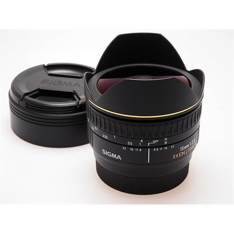 Sigma 15mm F2.8 EX DG Fisheye - Sony AF thumbnail