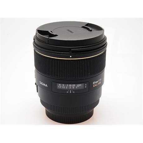 Sigma 85mm F1.4 EX DG HSM - Sony AF thumbnail