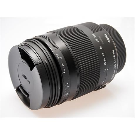 Sigma 18-200mm F3.5-5.6 DC Macro OS HSM C - Ni thumbnail