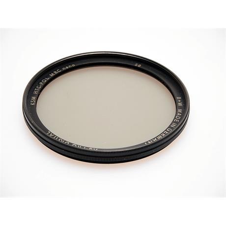 B+W 58mm Kasemann Polariser Circular MRC Nan thumbnail