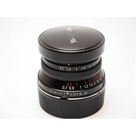 Voigtlander 35mm F2.5 Color Skopar thumbnail