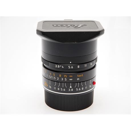 Leica 24mm F3.8 Asph M Black thumbnail