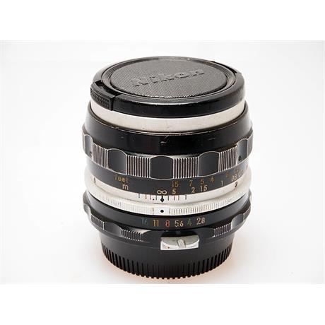 Nikon 35mm F2.8 Non AI thumbnail