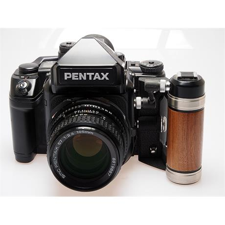 Pentax 67II Complete + Wooden Grip thumbnail