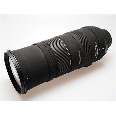 Sigma 150-500mm F5-6.3 APO DG OS HSM - Nikon A thumbnail