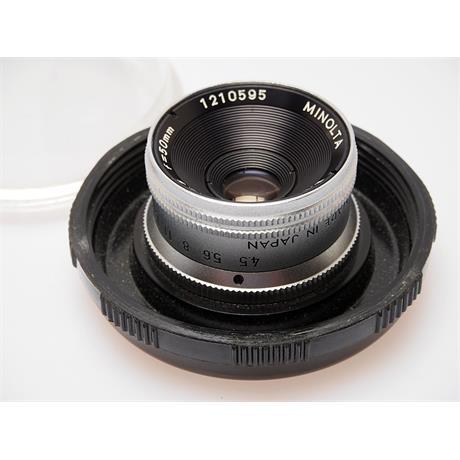 Minolta 50mm F4.5 E Rokkor thumbnail